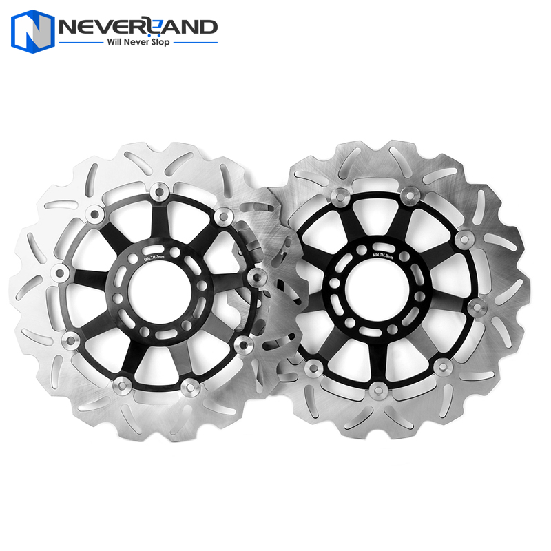 Front Brake Disc Rotor For Hyosung GT 250R 2007 2008 2009 2010 2011 2012 2013 2014 2015 Motorcycle aluminum alloy radiator for ktm 250 sxf sx f 2007 2012 2008 2009 2010 2011