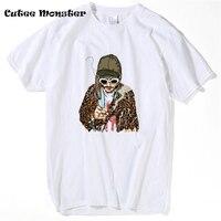Курт Кобейн футболка Лето 2017 г. Нирвана футболка Для мужчин солист что одна группа с инстру Для мужчин TS в стиле хип-хоп футболки