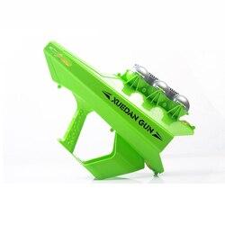 Безопасный Снежный пистолет с автоматической загрузкой, большие снежные бои, детские игрушки, пусковая установка с шариками, забавный и инт...