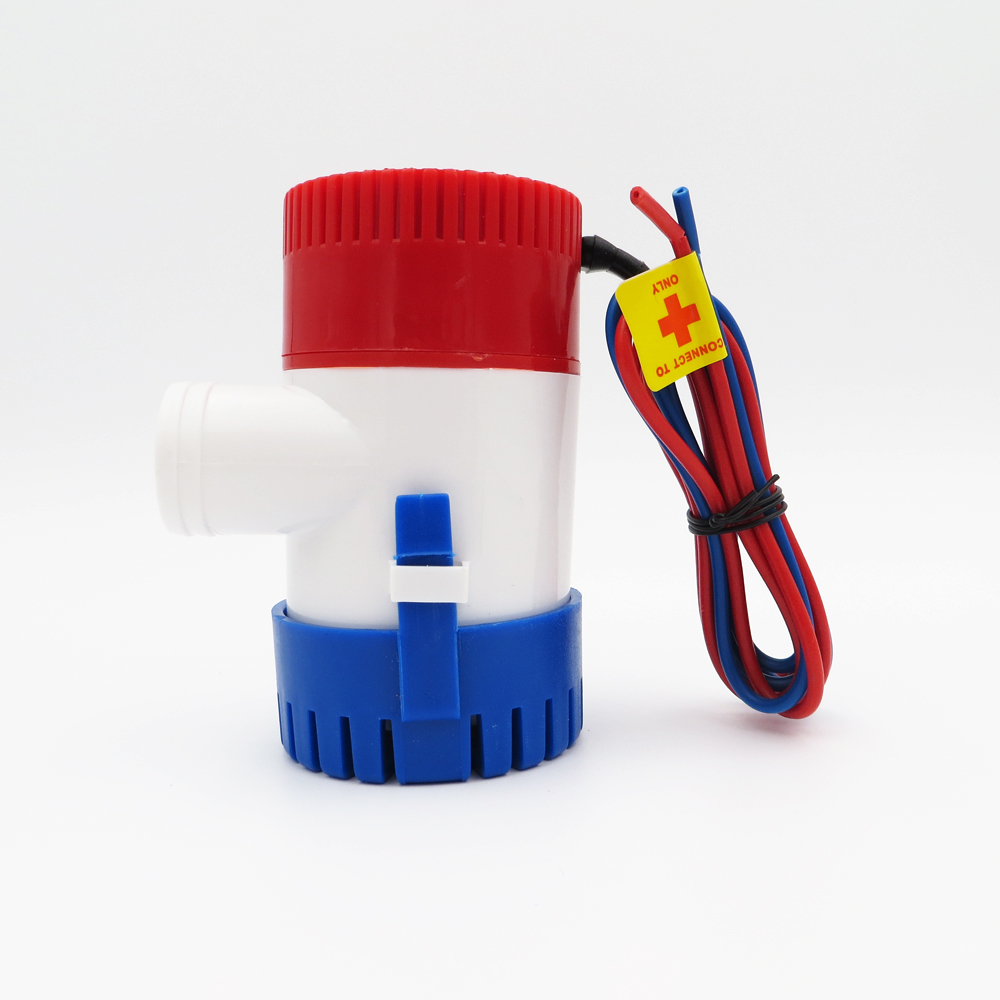 12V 750GPH Bilge Pump 2m3/h small DC Submersible Solar water pump for Fountain garden irrigation swimming pool cleaning farming