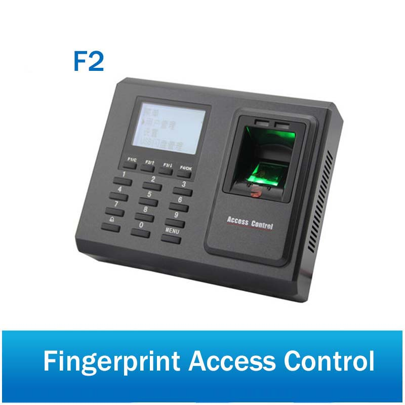 ZK F2 Fingerprint Access Control and Time Attendance system TCP/IP Biometric 125Khz EM ID Card with Free SoftwareZK F2 Fingerprint Access Control and Time Attendance system TCP/IP Biometric 125Khz EM ID Card with Free Software