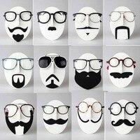 5pcs Sunglasses Show Stand Holder Free Shipping Fashion Face Model EVA Mustache Face Glasses Sunglasses Spectacles