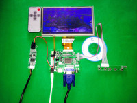 For INNOLUX 7 0 Inch Raspberry Pi LCD Touch Screen Display TFT Monitor AT070TN90 Touchscreen Kit