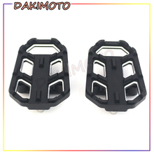 цена на Motorcycle Billet MX Wide Foot Pegs FootRest Footpegs Rests Pedals for Honda NC700S NC700X NC750S NC750X CB500X