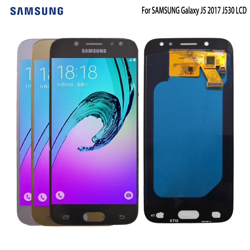 Best AMOLED For SAMSUNG Galaxy J5 2017 J530 LCD Display Touch Screen For Samsung J530F Screen