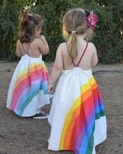 Rainbow Beach Tutu Dresses