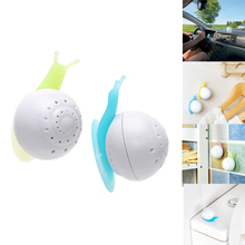 Car Air Freshener Perfume Fragrance Snail Shaped Solid Wardrobe Bedroom Bathroom  Air Freshener With Suction Cup