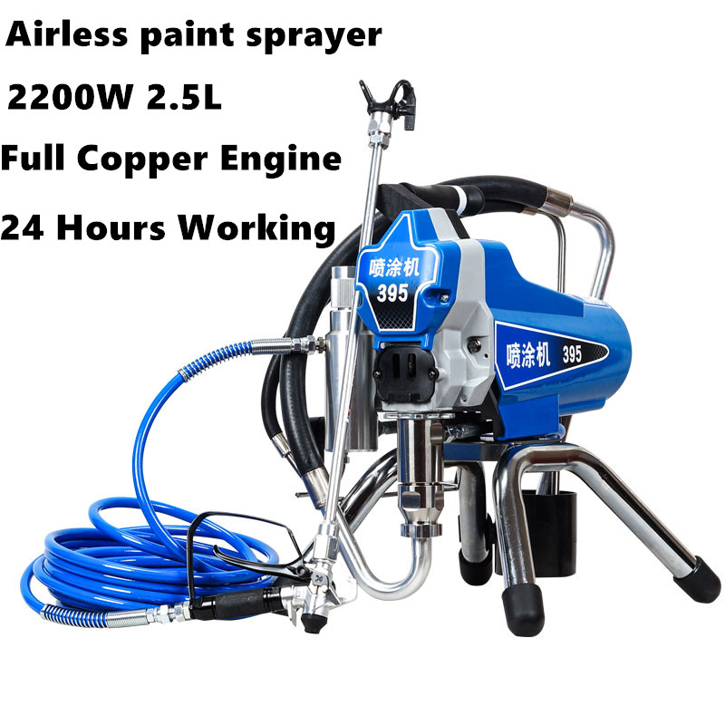 2018 High-pressure New airless spraying machine Airless Spray Gun electric Airless Paint Sprayer 390 395 painting machine tool electric airless spray gun high pressure paint sprayer airless spraying machine m819a with english manual