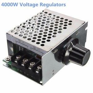 Регулятор напряжения ZEAST 4000W 220V SCR высокой мощности, диммер, контроллер скорости электродвигателя, электрические инструменты, потенциометры