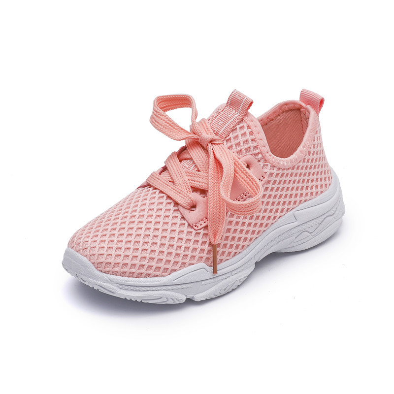 2019 New Spring And Summer Breathable And Comfortable Mesh Shoes Children's Sports Shoes