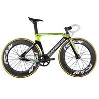 2016 ICAN Super Light 6.98 кг углерода трек велосипед Aero завершено трек велосипеда Полный Carbon велосипеды fixed gear велосипед ac135