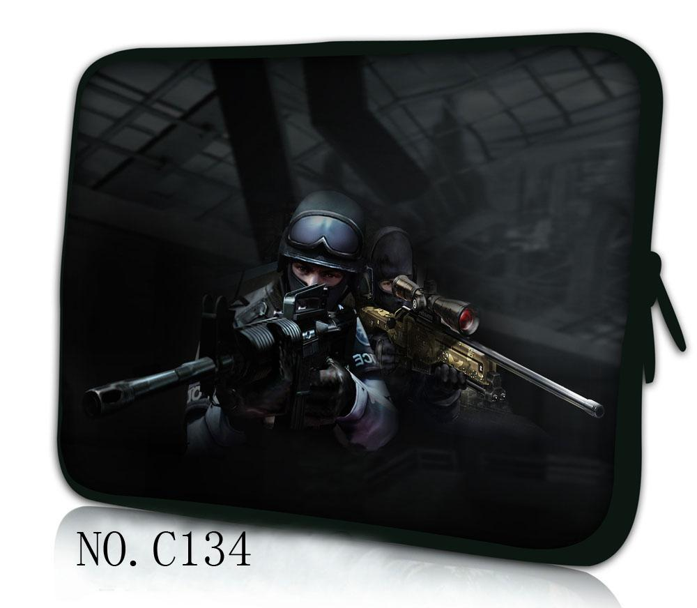 Counter-Strike for macbook Neoprene Soft bag for macbook 11131517 Ultrabook Laptop Sleeve Pouch For Macbook Air Pro Retina