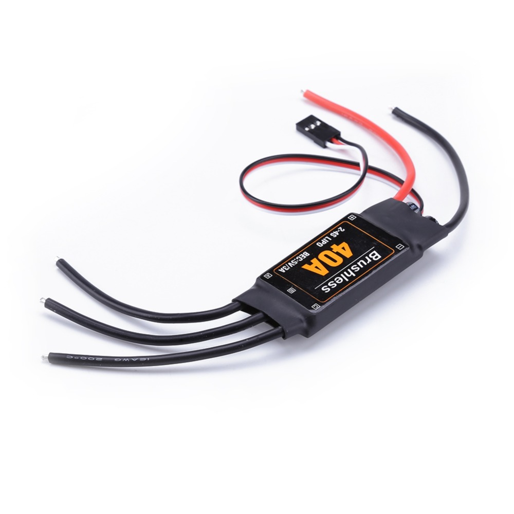 40A Brushless ESC Drone Airplanes Parts Components Accessories Speed Controller Motor RC Toys FPV Durable Quadcopter Helicopter image