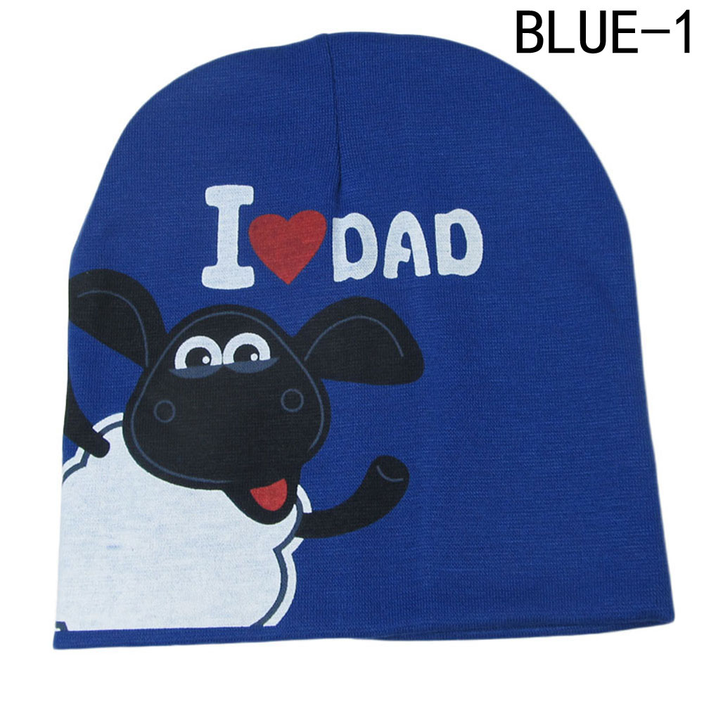 Giraffita Baby Hat I Love Mom And Dad Caps Printed Child Cotton Children  Hats Beanies Cap For Toddler Boys Girls Warm Hat 3de26654d3a5