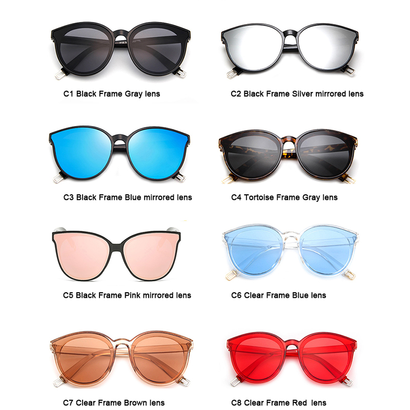 fb758481a4 SOJOS Polarized Fashion Round Sunglasses For Women Men Mirrored Lens Metal  Frame Brand Designer Sun Glasses Eyewear UV400 SJ2057-in Sunglasses from  Apparel ...