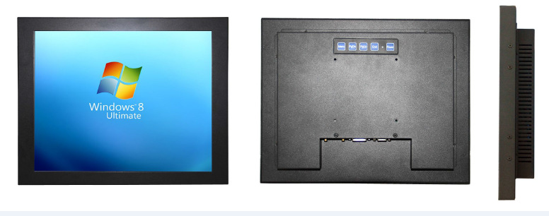 TKUN 17 inch outdoor industrial touch screen LCD Monitor