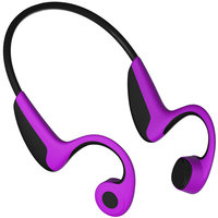 Bone Conduction Headphones Sweatproof HiFi Stereo Earbuds Sport Wireless Bluetooth Noise Cancellation for iPhone Android Devices