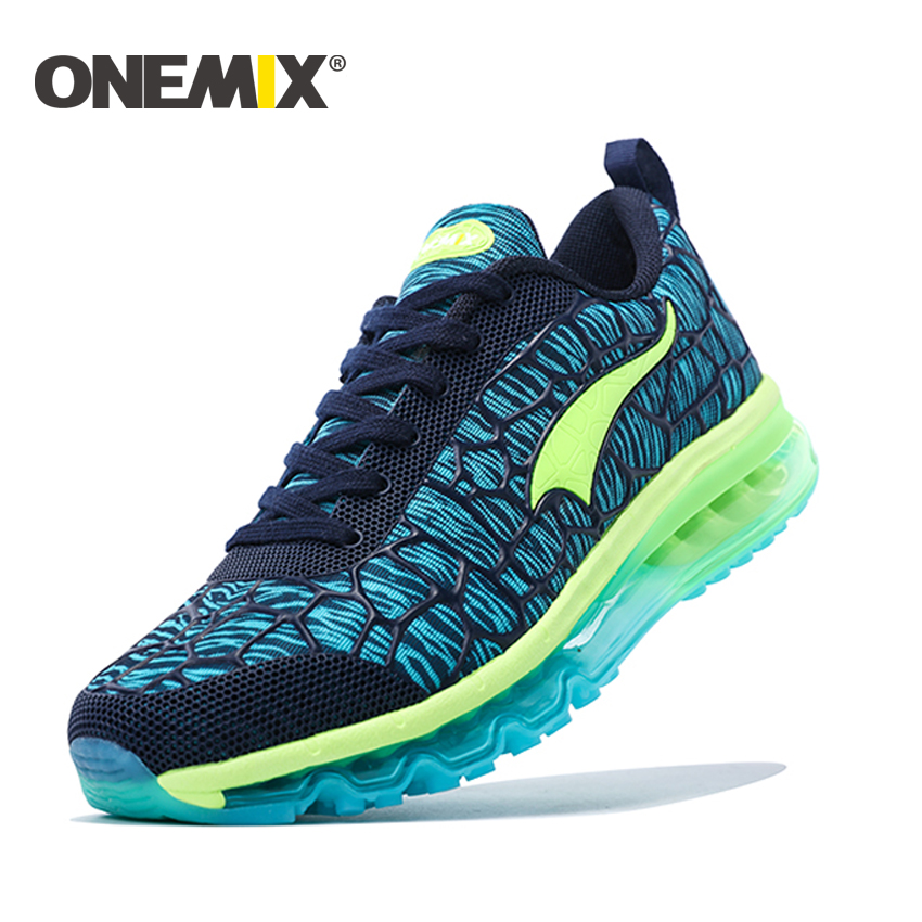 ONEMIX 2017 Mens Sport Sneakers Breathable Men's Running Shoes with Cushion Outdoor Boy Athletic Sneakers free shipping kelme 2016 new children sport running shoes football boots synthetic leather broken nail kids skid wearable shoes breathable 49