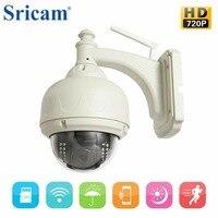 360-degrees Döner Monitör Kamera Açık HD 720 P Kablosuz Wifi IP Dome Kamera CCTV Güvenlik Gözetleme Destek Gece Görüş