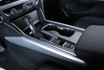 Couverture latérale de panneau de boîte de changement de vitesse de Console centrale mate 2 pièces pour Honda Accord 2018