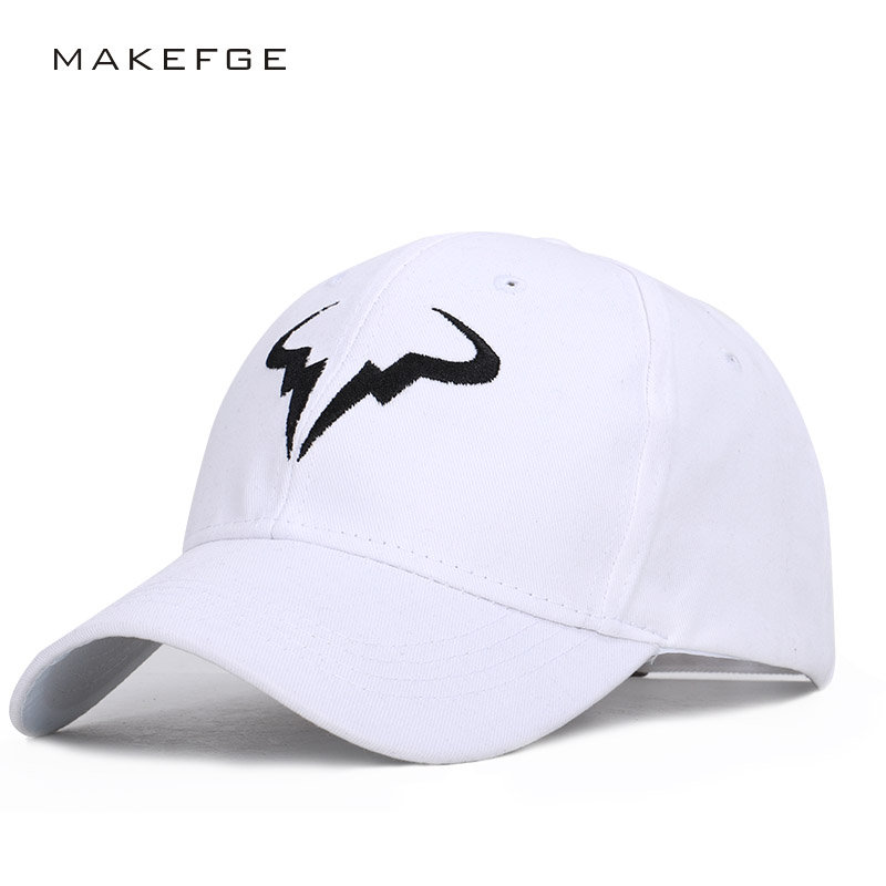 Exquisite embroidery Roger Federer baseball cap unisex adjustable high quality outdoor shade dad hat truck driver cap streetwear