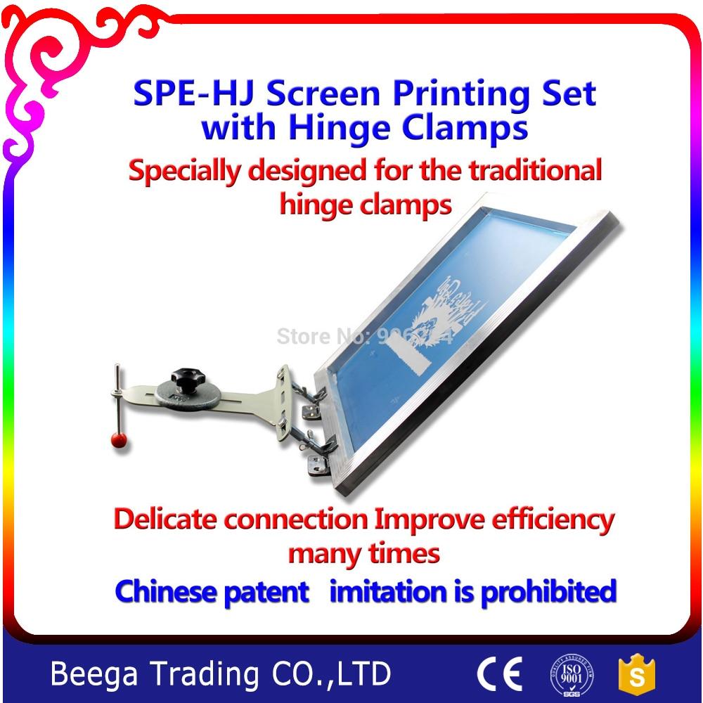 купить Screen Printing with Hinge Clamp Set Printing T-shirt Directly by Hinge Clamp недорого