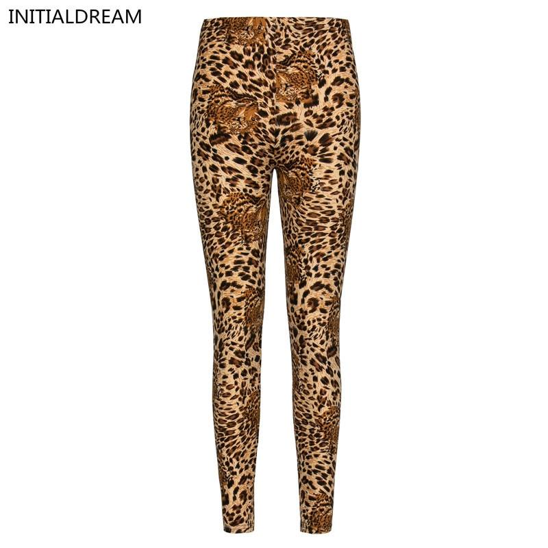 2018 Flowers Leopard Leggings Summer Causal High Elastic Womens Leggins Hot Sexy Slim Leggings HDDK0013 free shipping