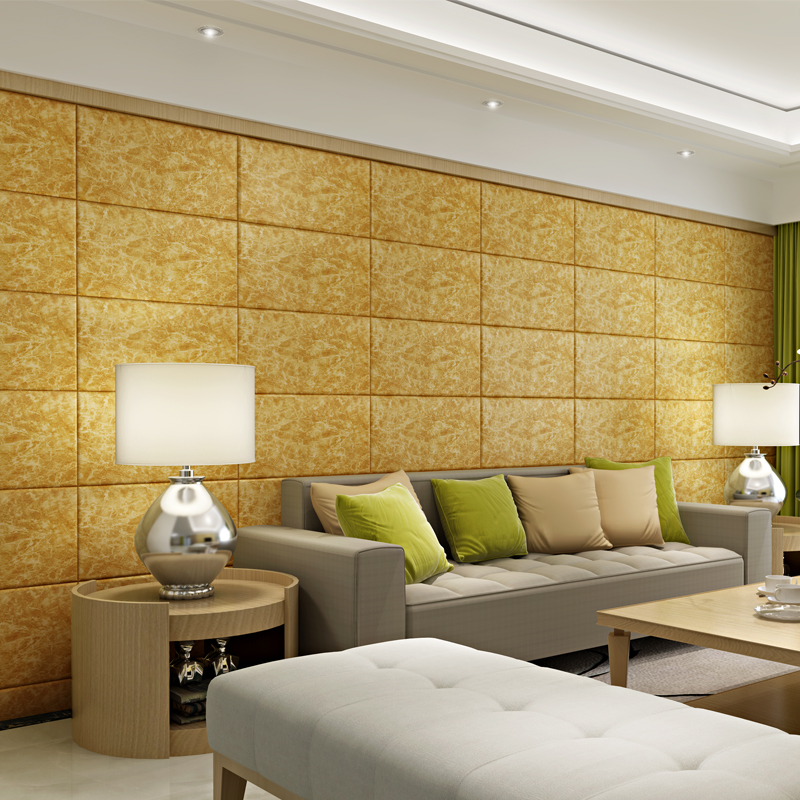 Marble 3d three dimensional wall stickers tv background wall ...