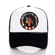 Fashion Summer trucker cap Men Women Amendment Punisher Baseball caps Style Brand New Male Mesh hat
