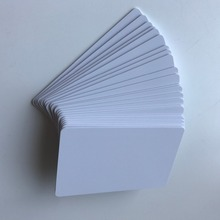 230pcs Inkjet Printable Matte Finish Plastic Blank PVC Card for School Card/ ID Card /Membership Card Printing by Epson or Canon