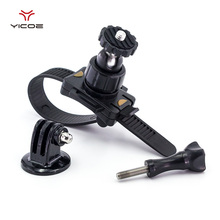 Bicycle Handlebar Mount Motorbike Clip Tripod Mount Adapter For Gopro Hero 5 4 3 SJ4000 Xiaomi Yi 4K Action Camera Accessories