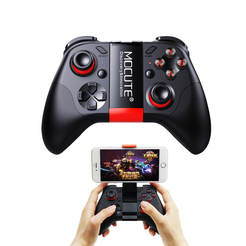 Mocute 054 Bluetooth Game Console Remote Control Gamepad Joystick Mini Portable Wireless VR Video Mouse Gamepad for ios Android