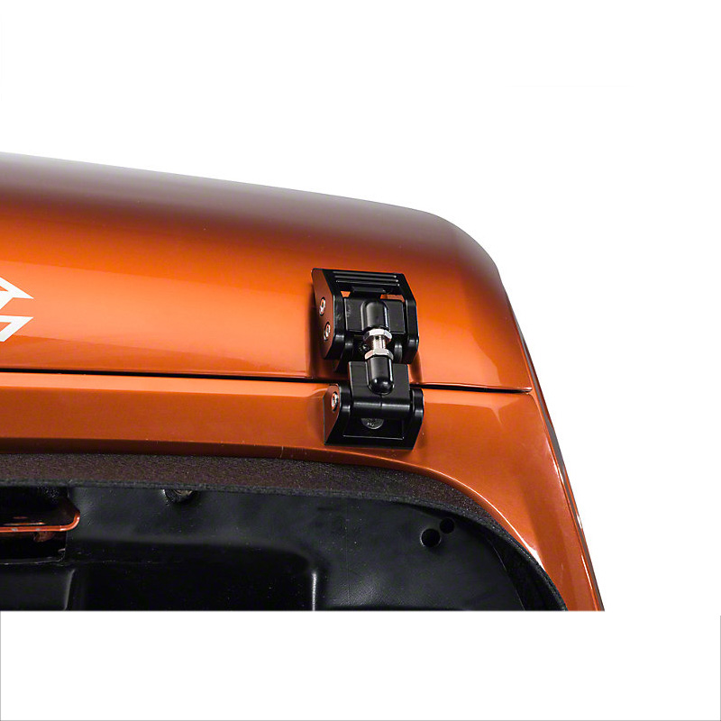 Lsrtw2017 araba kapı hood kapak kilit toka jeep wrangler jk için jl 2007 2008 2009 2010 2011 2012 2013 2014 2015 2016 2017 2018