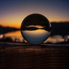 Кристально прозрачные линзы круглые кристаллы мяч 50 мм 80 с подставкой 2 «фотографии Lensball задний план Декор K9 стекло кристалл