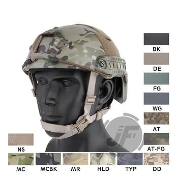 Emerson Tactical Fast Helmet EmersonGear MICH Ballistic Type Advanced OCC DIAL System Helmet w/ NVG shroud + Rails