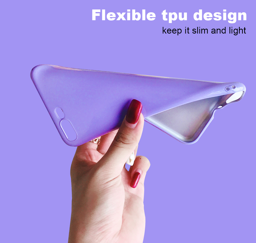 Ascromy For iPhone X Candy Color Case Luxury Soft TPU Cute Shockproof Cover Fundas For iPhone 8 Plus 7 6 6S 10 Coque Accessories (5)