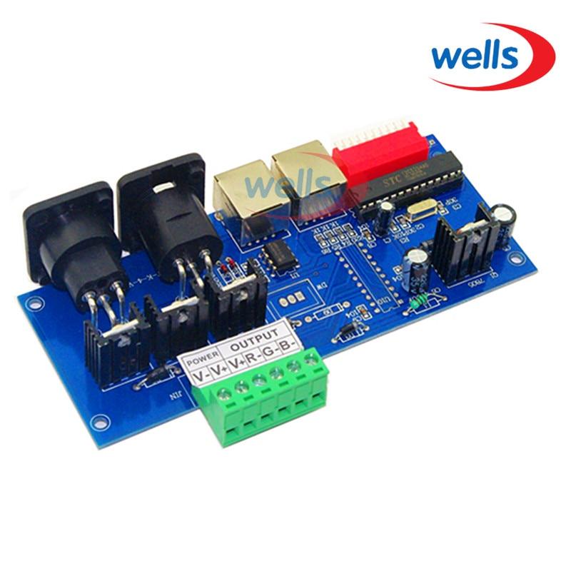 3CH DMX512 sa RJ45 Easy DMX RGB LED dekoderom, kontrolerom stalne - Različiti rasvjetni pribor - Foto 2
