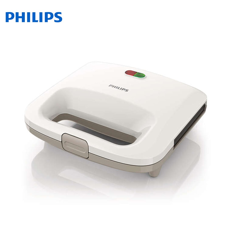 Sandwich Makers Philips bread Household Baking 2 Slices Slots for Breakfast toast machine automatic zipper цена и фото