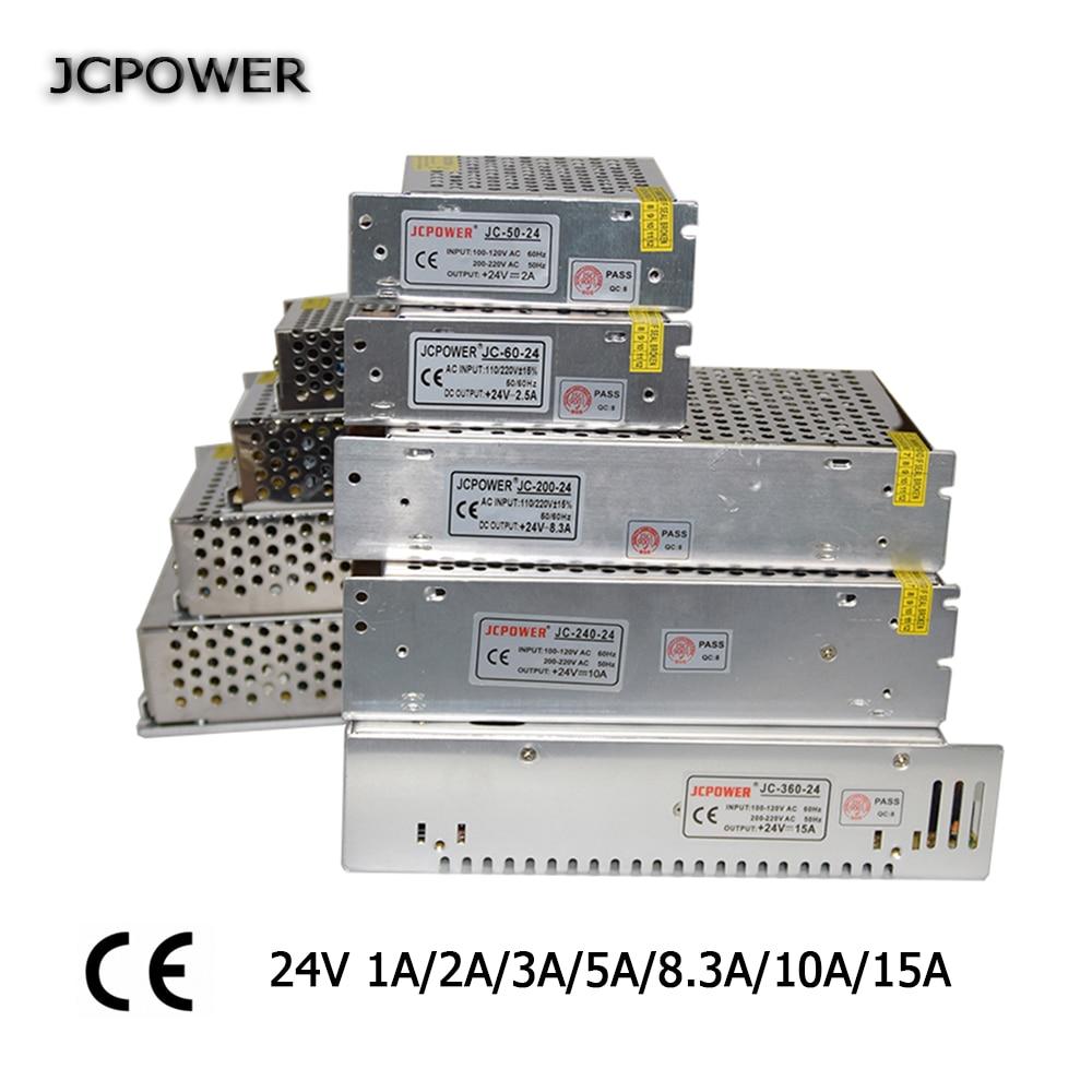 DC24V 60W 120W 150W 250W 360W Switching power supply 24v power supply 24V 1A 2A 3A 5A 8.3A 10A 15A power supply led 24v 15a switching monitor power supply adapter