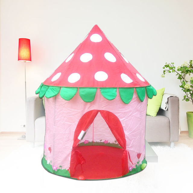 intelligence Mushroom design princess castle play house play ground games play racing  sc 1 st  AliExpress.com & intelligence Mushroom design princess castle play house play ...