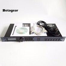 Betagear260 PA260 Аудиопроцессор профессиональный громкоговоритель Управление Системы PA Системы 3-In/6-Out DSP процессор