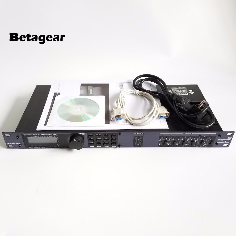 Tragbares Audio & Video Betagear260 Pa260 Ausgleich Control System Komplett Eq & Lautsprecher Management System Pa System 3-in/6-out Dsp Kostenloser Versand Unterhaltungselektronik