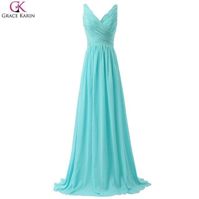 Grace karin aqua blau brautjungfer kleider erröten rosa rot mint ...