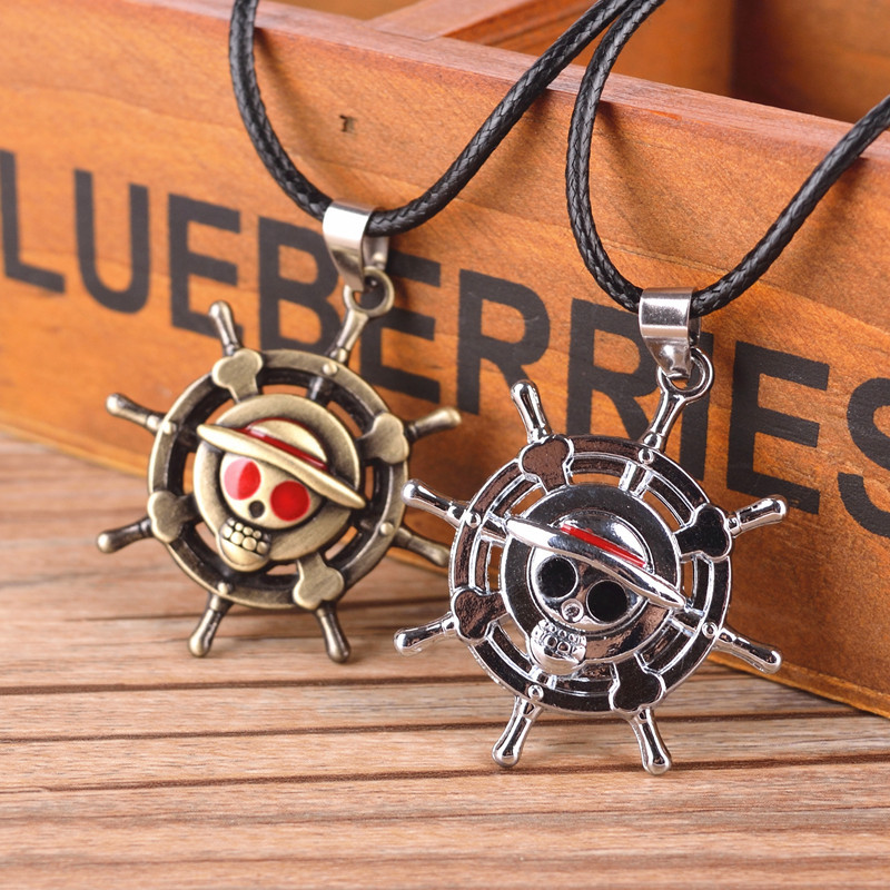 One Piece Anime Action Figure Cosplay Monkey D Luffy Cute Cartoon Doll One Piece Necklace Kids Toys cute cartoon human figure pendant necklace white red