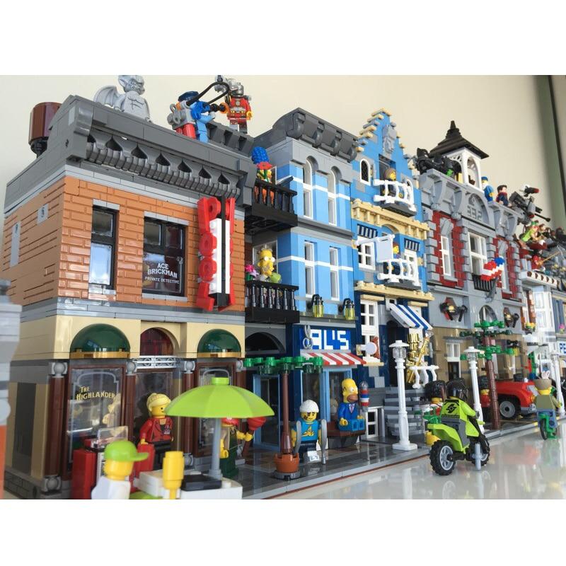 Schepper Architectuur Stad Expert Street View 15001 15004 15005 15006 15007 15009 15010 15012 15019 15036 15042 model Fit Legoed-in Blokken van Speelgoed & Hobbies op  Groep 3
