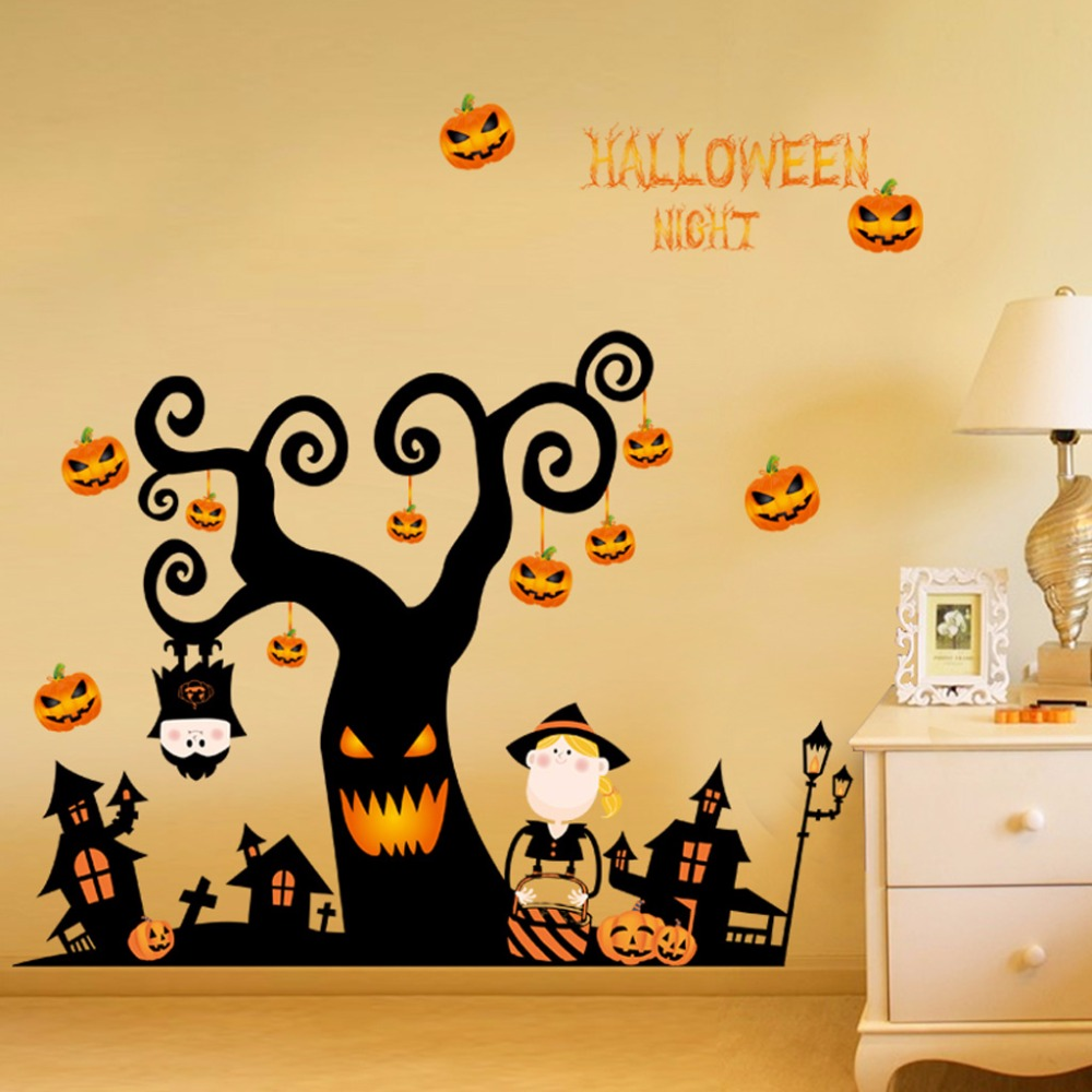Old Fashioned Halloween Wall Art Adornment - Wall Art Ideas ...