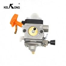Carb Carburador Para Stihl FS87 FS90 FS100 KELKONG KM100 FS110 KM110 FS130 KM130 HT130 Motor Trimmer Substituir ZAMA C1Q S173 S176