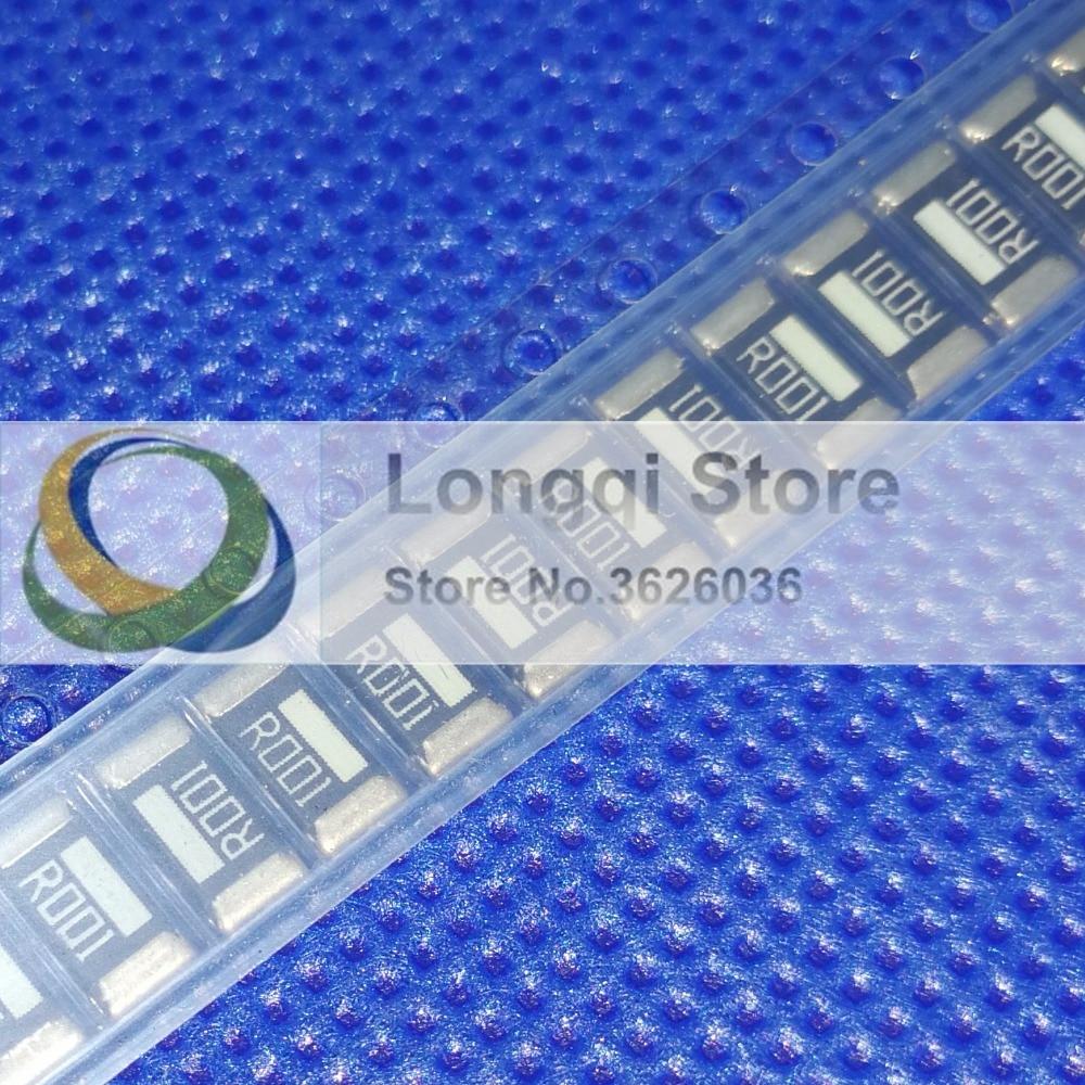 50PCS 2512 1% 0.0005R 0.001R 0.002R 0.003R 0.004R 0.005R 0.006R 0.007R 0.008R 0.009R 2W-3W Precision alloy resistance High-power
