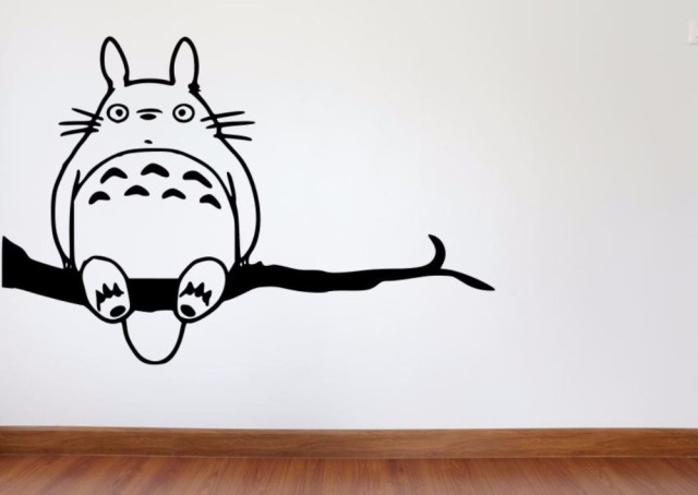 Superior Anime Wall Decal My Neighbor Theme Ghibli Totoro Wall Stickers For Kids  Room Home Sweet Home