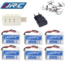 8PCS/SETS Lipo Battery 3.7v 400mAh 30C for JJRC H31 JJRC H43hw Drone Li-